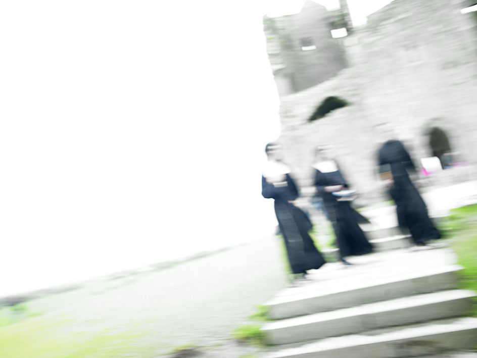 Nuns at the Rock Castle Ireland